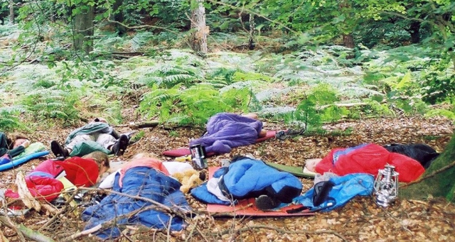 Waldscouts|Uebernachtung