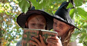 Hexen Zauberbuch Seitenheader