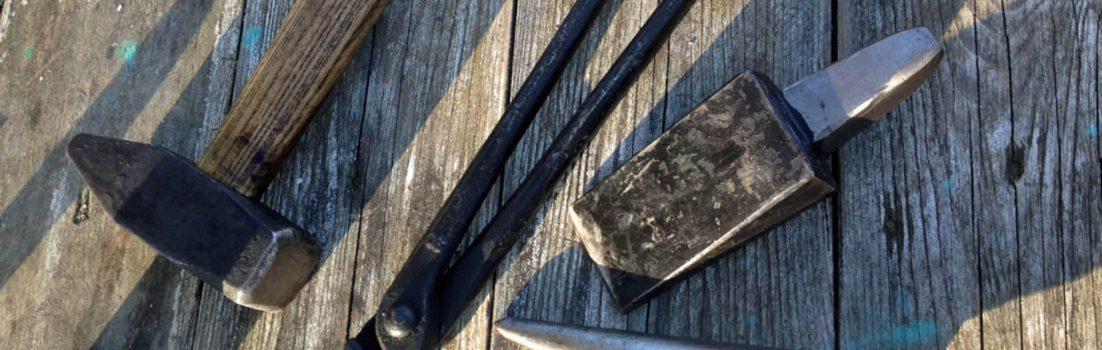 Hammer Zange Rundhorn Abschrot